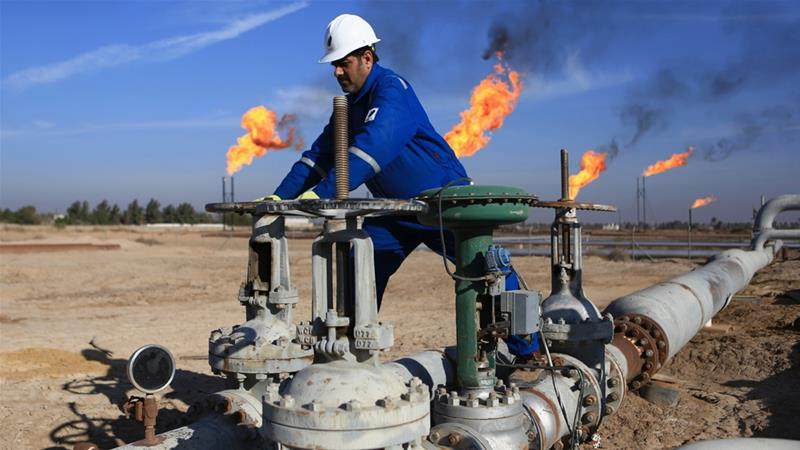 The Exxon Mobil evacuees worked at the West Qurna 1 oil field in Basra [File: Nabil al-Jurani/AP]