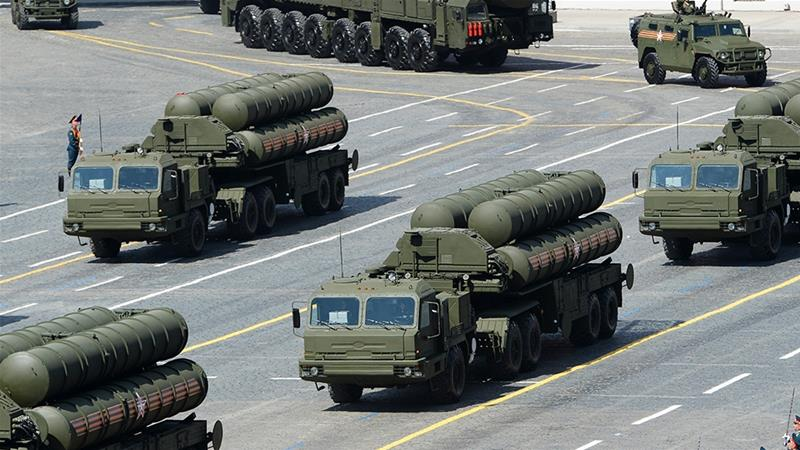 The order of S-400 reportedly cost Turkey $2bn [File: Host Photo Agency/RIA Novosti/Reuters]