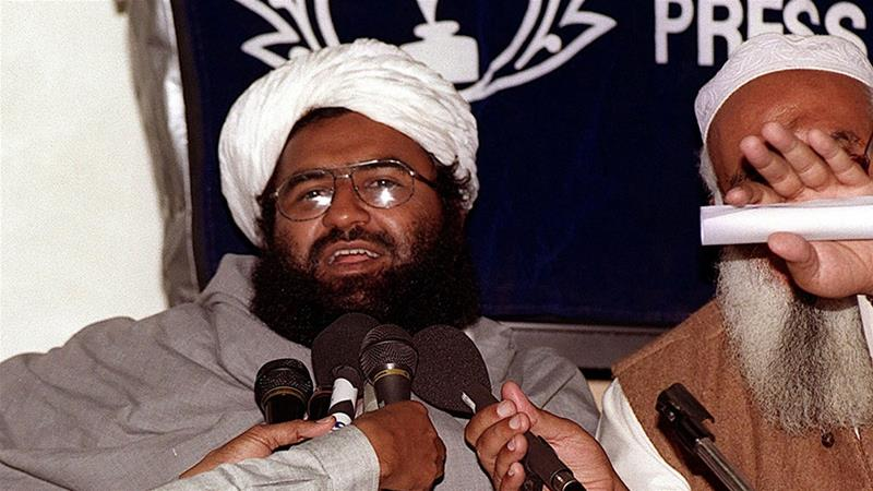 The UN added Masood Azhar to its list of global terrorists after China lifted its objections to the move [File: Aamir Qureshi/AFP]