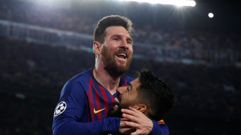 Messi on target as Barcelona beat Liverpool in Champions League