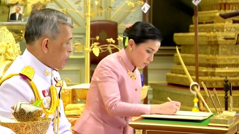 From bodyguard to queen: Thai king announces surprise wedding