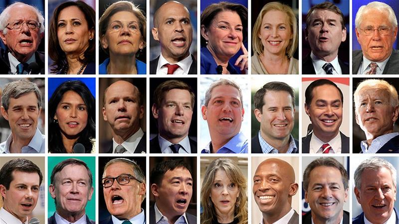 """Résultat de recherche d'images pour """"democrats usa election candidates"""""""