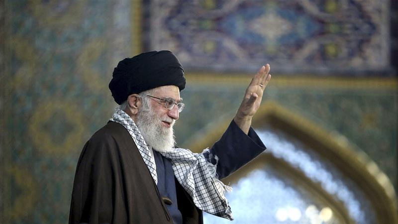 So-called deal of the century is a 'great betrayal of the Islamic world', Ayatollah says [AP]