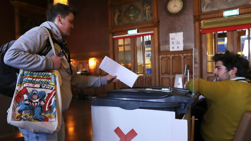 4 nations vote in high-stakes European Union election