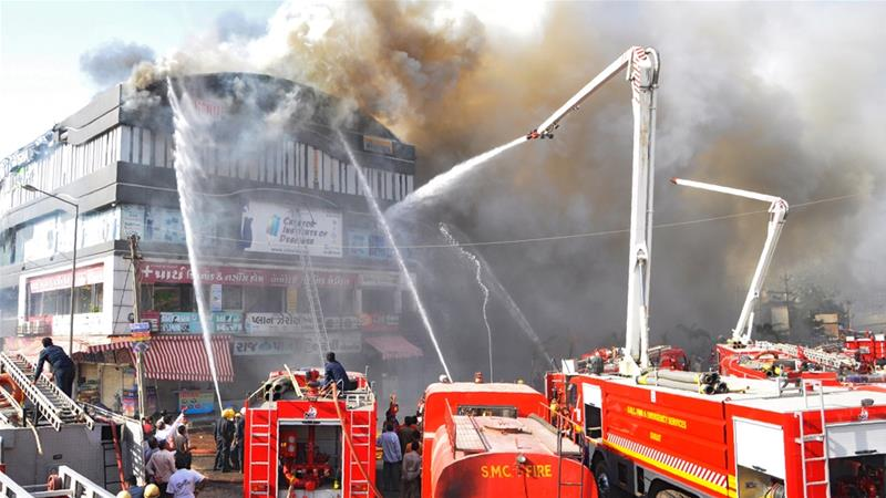 India Death Toll In Surat Coaching Centre Fire Rises To 20
