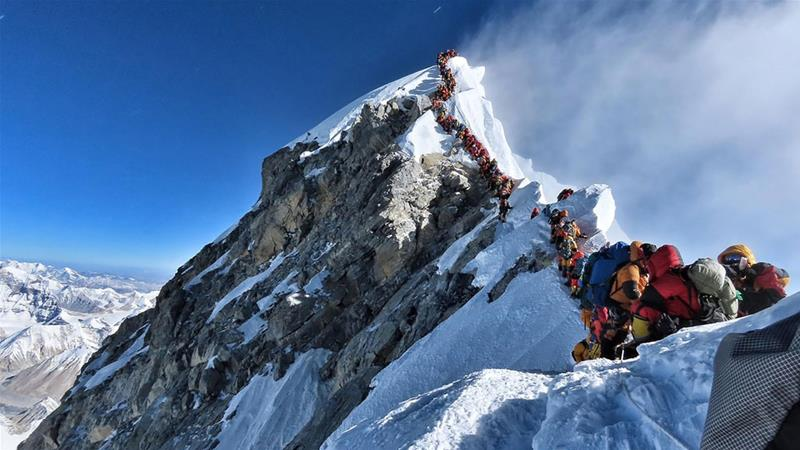 Mount Everest Death Toll Reaches 10 For This Climbing