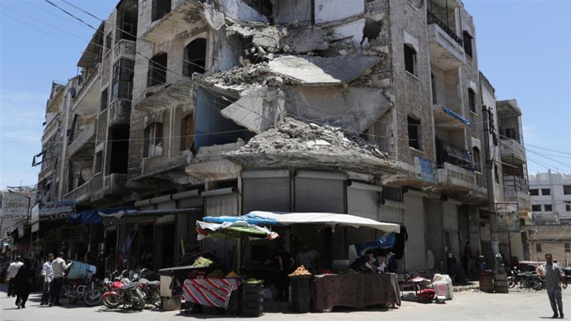 Syrian forces intensified attacks on rebel-held areas, home to three million people, late in April [Khalil Ashawi/Reuters]