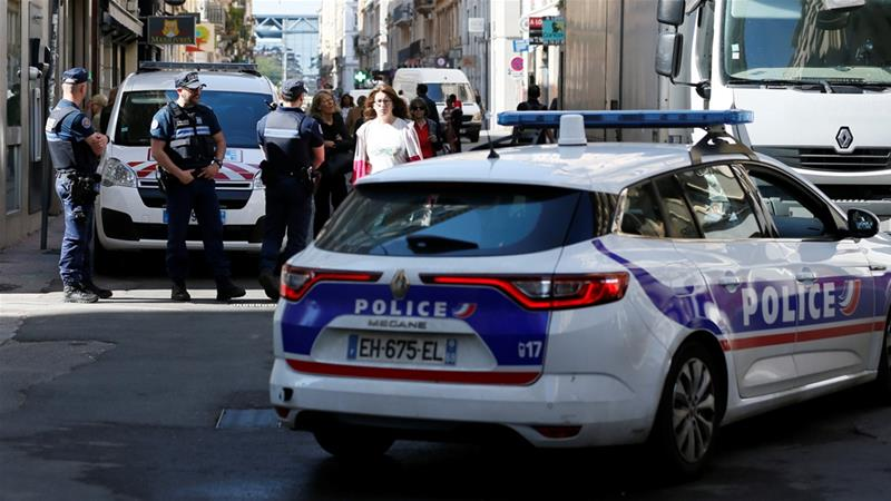 The main suspect is an IT student previously unknown to police, Lyon's mayor said [Reuters]