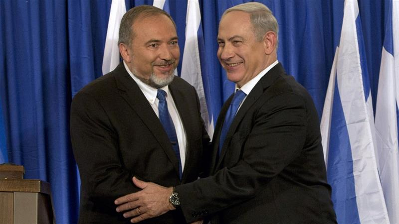 Former Defence Minister Avigdor Lieberman has prevented a deal to form a new coalition government led by Netanyahu [File: Bernat Armangue/ AP Photo]