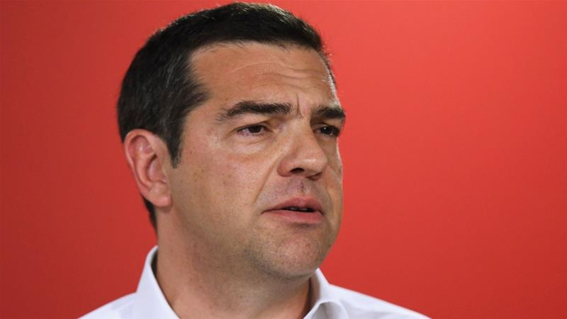 Tsipras: 'The electoral result ... is not worthy of our expectations' [Costas Baltas/Reuters]
