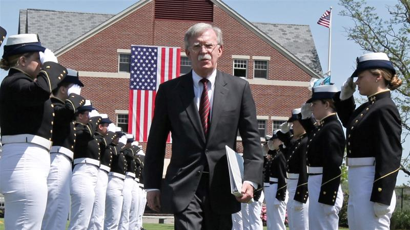 North Korea stamps US' John Bolton 'war maniac'