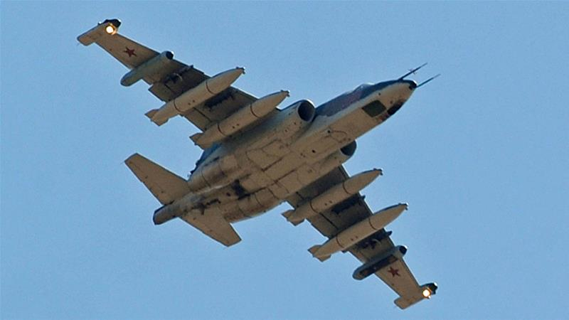 USA calls Russian, Syrian air strikes 'reckless escalation' in Syria