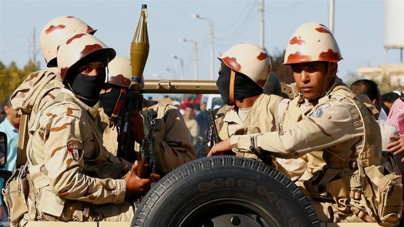 Two killed in suicide bombing in Egypt's North Sinai