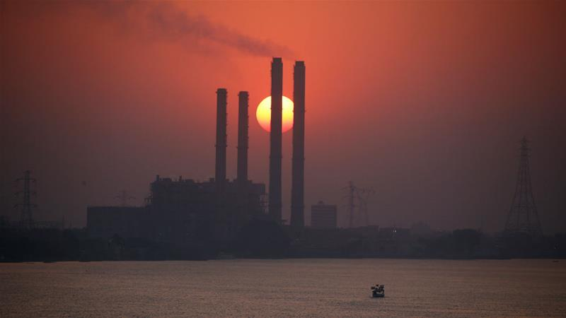South Cairo Electricity Distribution Company's power station by the river Nile in Cairo [Amr Abdallah Dalsh/Reuters]