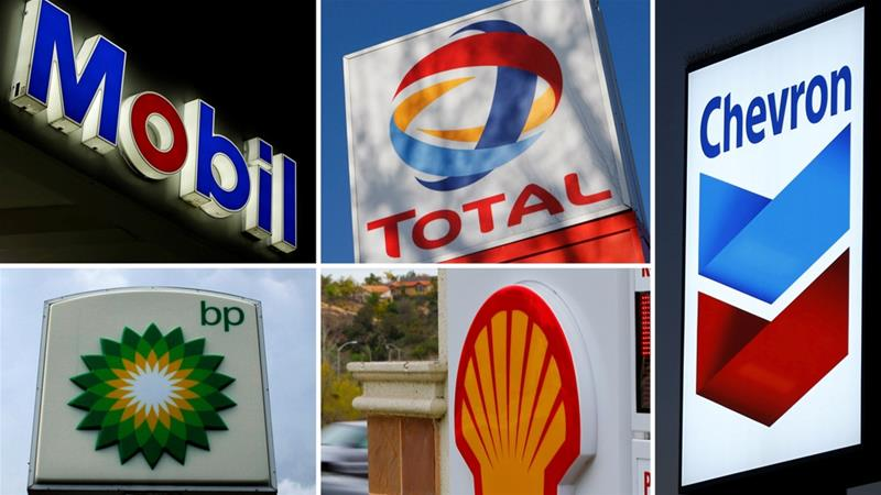 Oil giants have been increasingly targeted by shareholders concerned about global warming [File/Reuters]