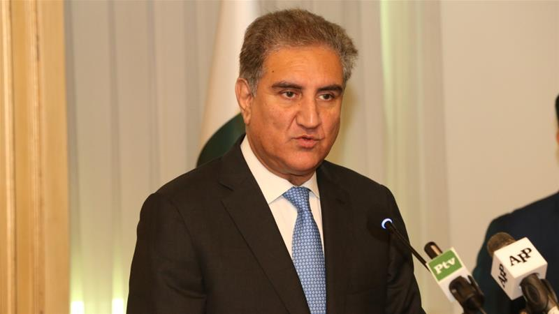 Pakistan's Foreign Minister Shah Mehmood Qureshi says India's Narendra Modi won the election on the back of 'Pakistan-bashing and fanning nationalism' [File: Anadolu Agency]