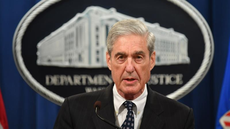 Mueller did not conclude that Trump had committed obstruction of justice, but did not exonerate him either [Mandel Ngan/AFP]