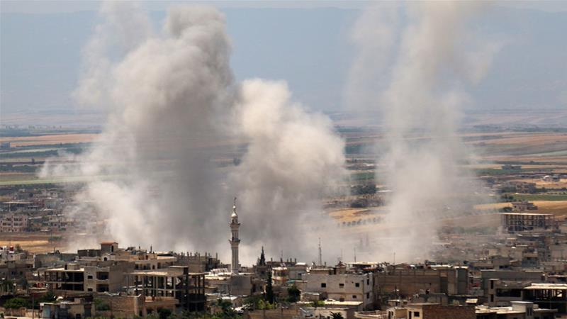 Syrian attacks on civilians continue amid rebel
