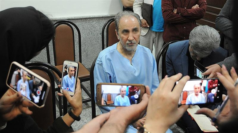Najafi turned himself in to police after shooting his wife to death [Hamed Ataei/Mizan]