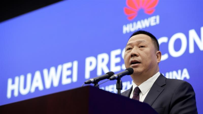 Chinese tech giant Huawei filed a suit in a US court in March challenging the constitutionality of a law that limits its sales of telecom equipment, and now it's trying to speed up that process [May 29: Jason Lee/Reuters]