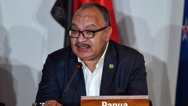 O'Neill had led Papua New Guinea for eight years [File: Saeed Khan/AFP]