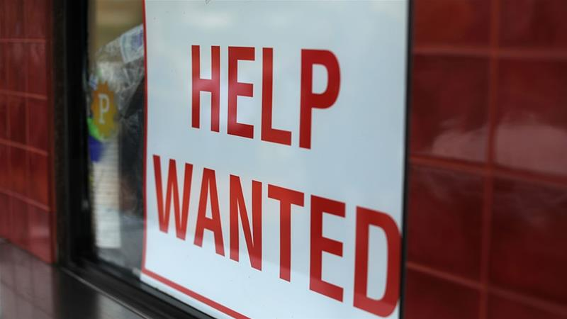 Unemployment hits 49-year low as U.S. employers step up hiring