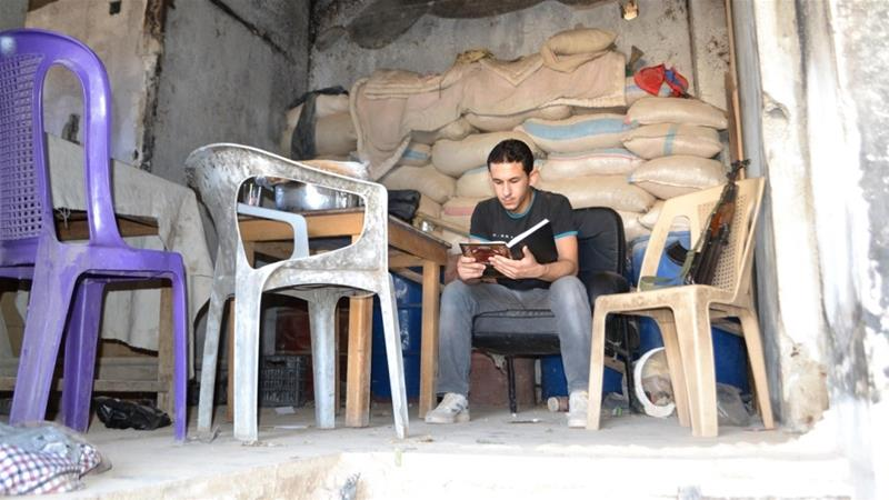 Daraya: A Library Under Bombs in Syria