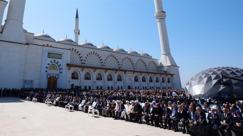 Turkey's largest mosque to open in Istanbul
