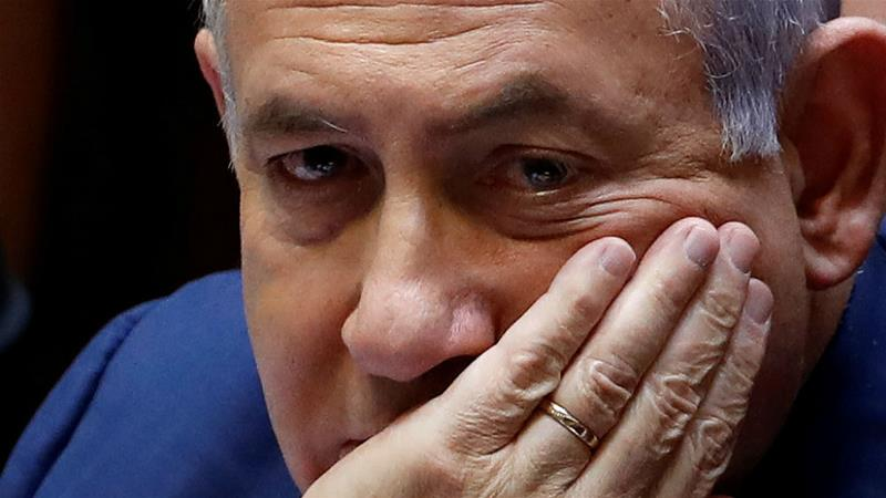 Israeli Prime Minister Benjamin Netanyahu failed to form a coalition government after the previous election [Ronen Zvulun/Reuters]