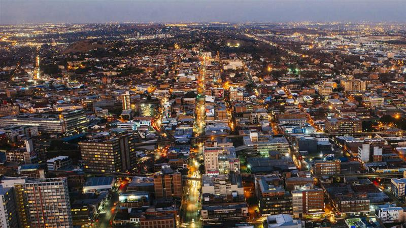 Johannesburg was established after the discovery of huge gold reserves [Waldo Swiegers/Bloomberg]
