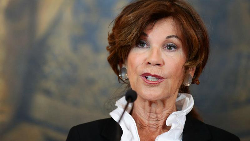 Chancellor designate Brigitte Bierlein is expected to appoint civil servants to ministerial roles [Lisi Niesner/Reuters]