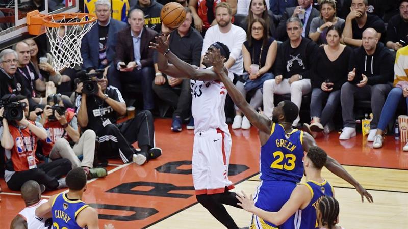Toronto Raptors stun Golden State Warriors in first NBA Finals