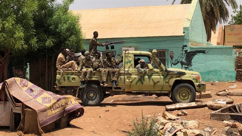 Sudanese military surround and shoot protesters