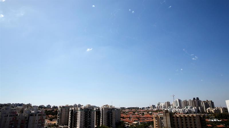 Israel's military said sirens were sounded in the area surrounding the besieged Gaza Strip [File: Amir Cohen/Reuters]
