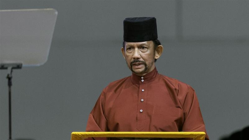 Hassan Bolkiah - one of the world's wealthiest men - first announced plans to implement the Islamic penal code in 2013 [EPA-EFE]