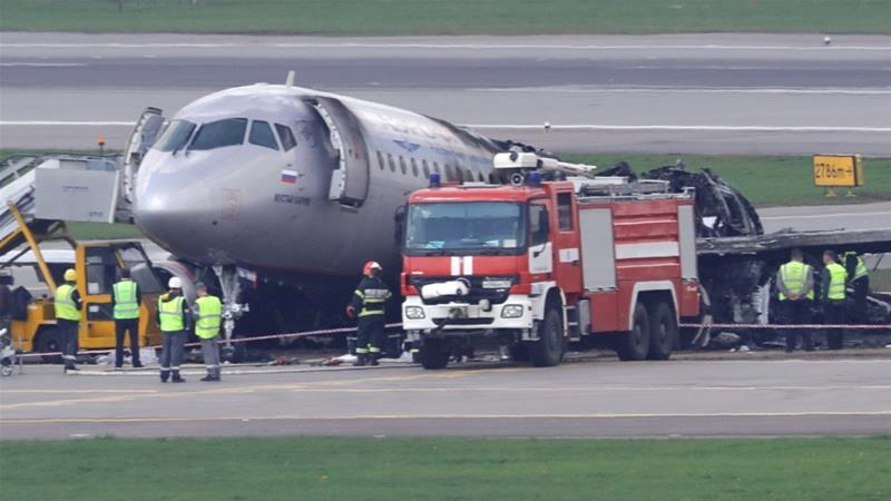 Pilot: Lightning prompted deadly Russian plane crash-landing