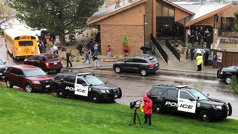 US: One student killed, seven wounded in Colorado school