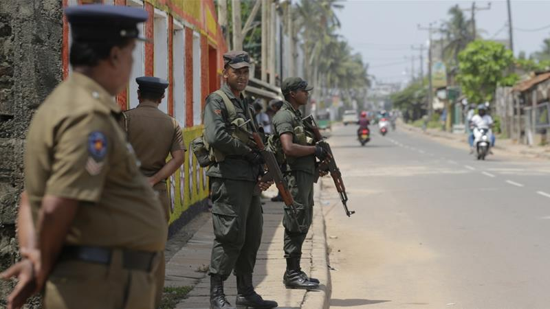 Sri Lanka police chief: All suspects in blasts killed or arrested