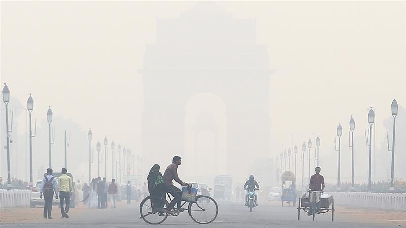 Oxygen bars to fake rain: 10 ways India fights deadly pollution