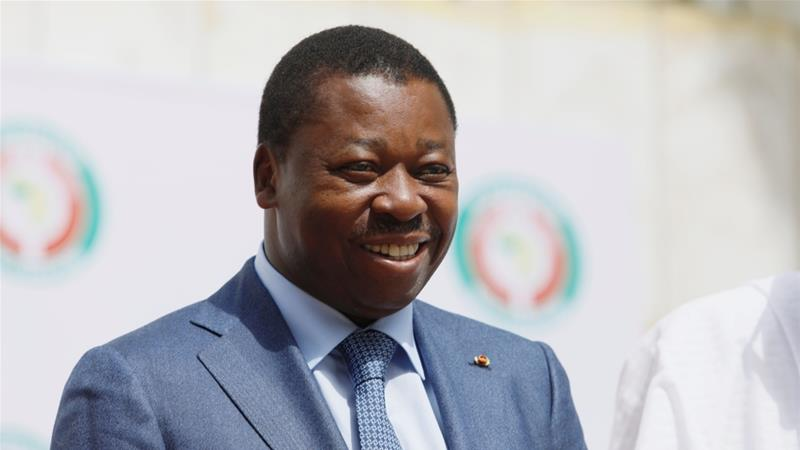 Faure Gnassingbe has held Togo's presidency since 2005 after taking over from his father, who seized power in a 1967 coup [Afolabi Sotunde/Reuters]