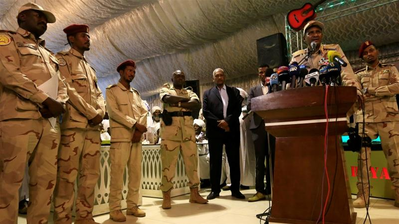 Soldiers arrested after Sudan protest deaths, military council says
