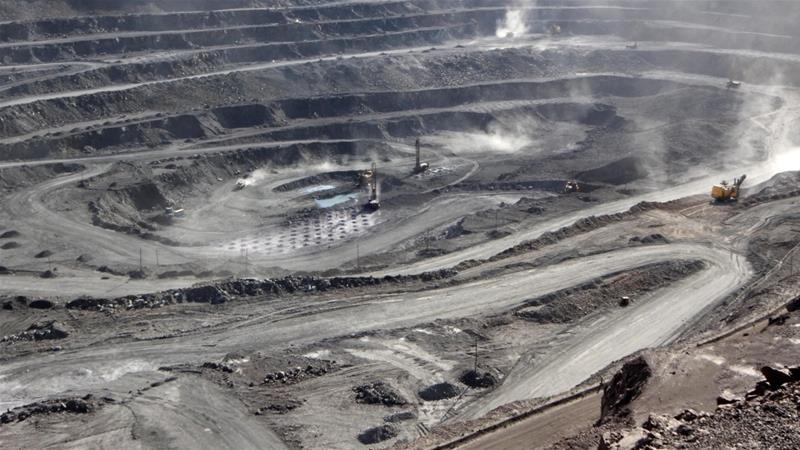The United States, Canada and Australia are joining forces to lessen dependence on rare earth minerals mined in China [File: Handout/Reuters]