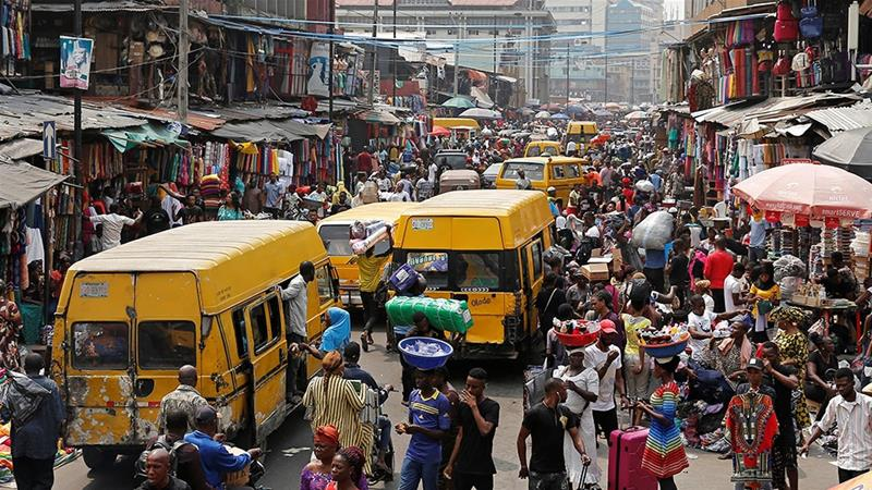 Nigeria's population continues to outpace its economic growth [Nyancho NwaNri/Reuters]