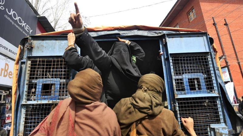 For years, rights groups have criticised India for using the Public Safety Act to stifle voices of dissent in Kashmir [File: Dar Yasin/AP]