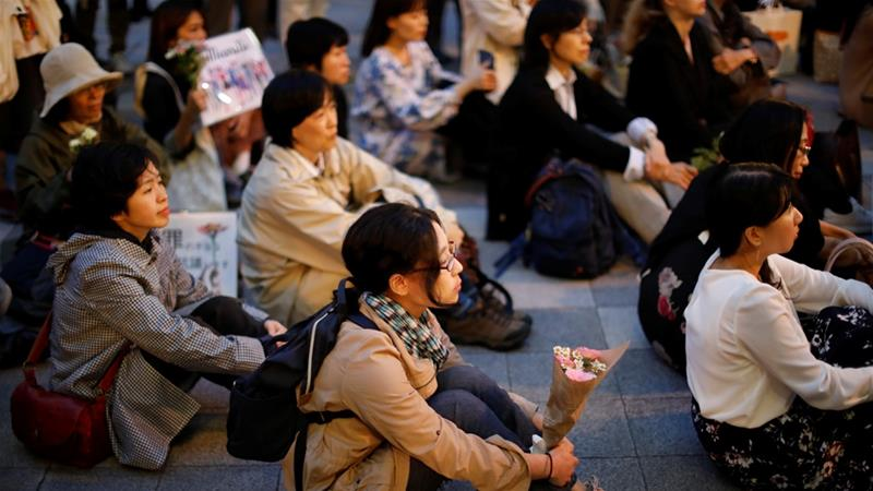Japan: Sexual abuse survivors protest for reforms