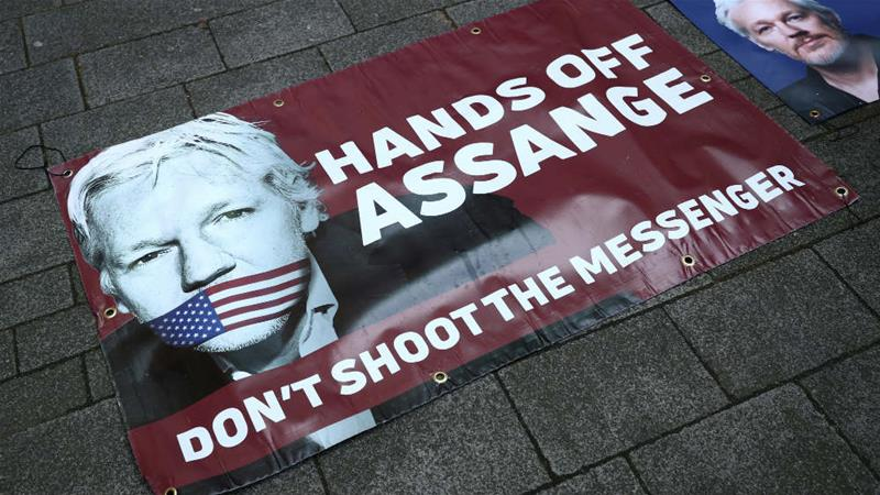 WikiLeaks founder Julian Assange is wanted in the US to face espionage charges [Hannah McKay/Reuters]
