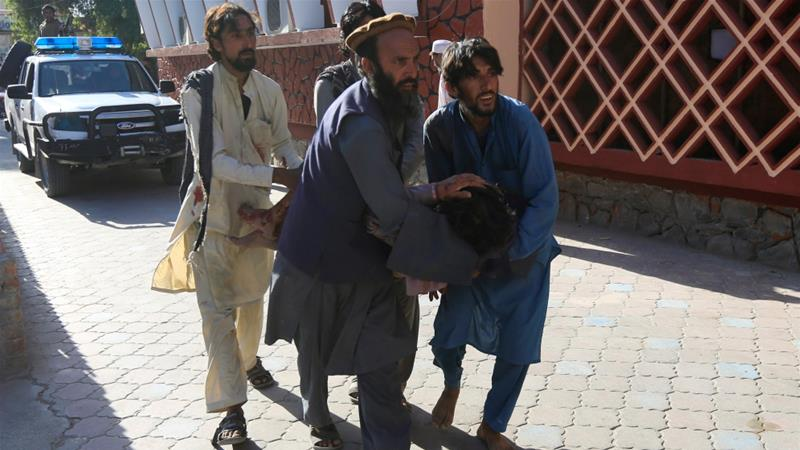 Afghanistan- Nicholas urges direct talks between Afghan govt., Taliban