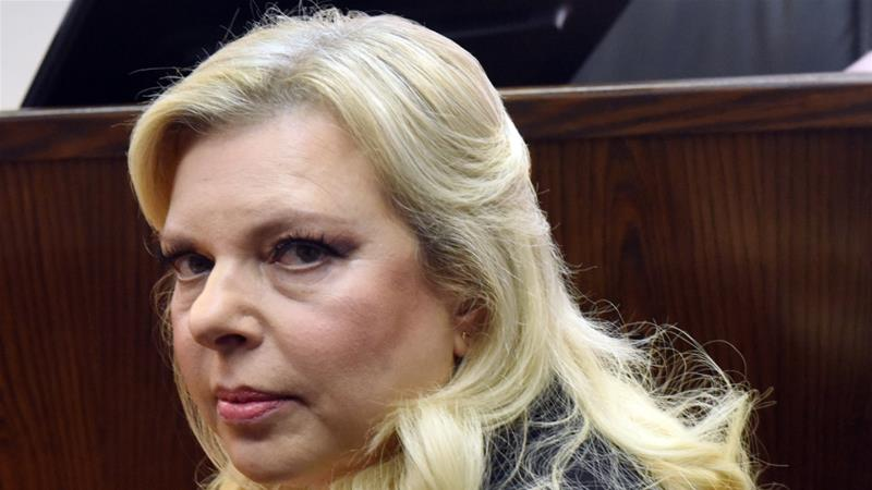Sara Netanyahu was initially charged in June 2018 with fraud and breach of trust [File: Debbie Hill/Reuters]