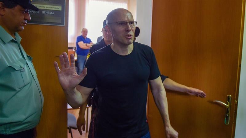 The prosecution had demanded a 10-year sentence in a strict-regime penal colony for the 53-year-old [Olga Maltseva/AFP]