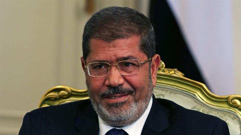 Former Egyptian president Morsi buried in Cairo, son says